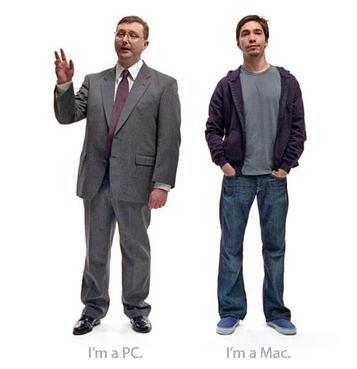 Mac PC ads