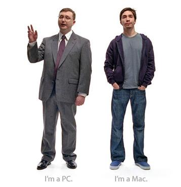 Mac PC ads