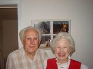 Arthur Wenk's parents