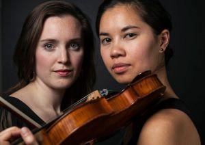 Kerry DuWors, violin andJacqueline Woodley, soprano