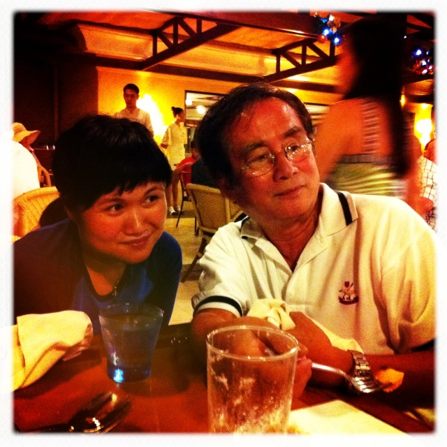 Nina and Dad