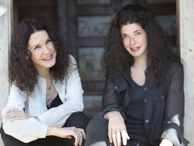 Photo Credit (from left) Katia and Marielle Labèque.  Photo by Umberto Nicoletti.