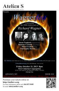Wagnerfest 2013 poster