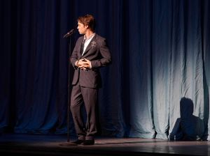 Rufus Wainwright captivated the Gala crowd at the Four Seasons Centre (photo by Michael Cooper)