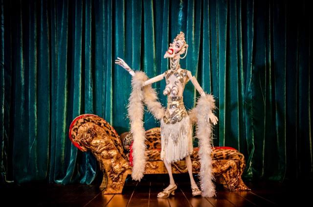 Esme Massengill, one of Ronnie Burkett's creations (photo by Alejandro Santiago