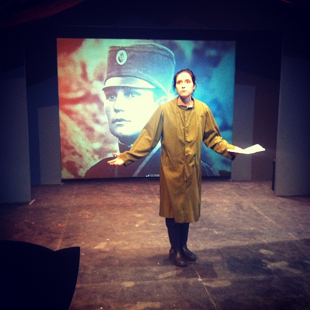 Milunka Savic scene at WWI(re)Visions of the Aftermath — with Alexia Polito