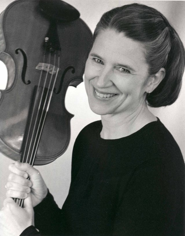 Violist Mary McGeer, Artistic Director of Talisker Players
