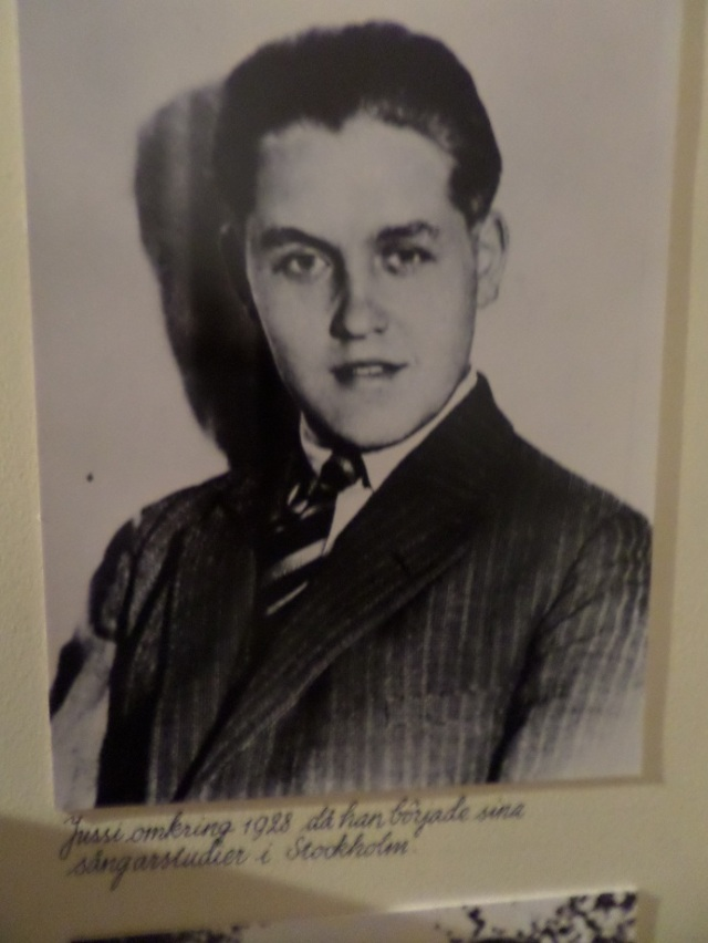 As a young man in 1928