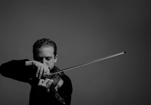 Violinist Benjamin Bowman