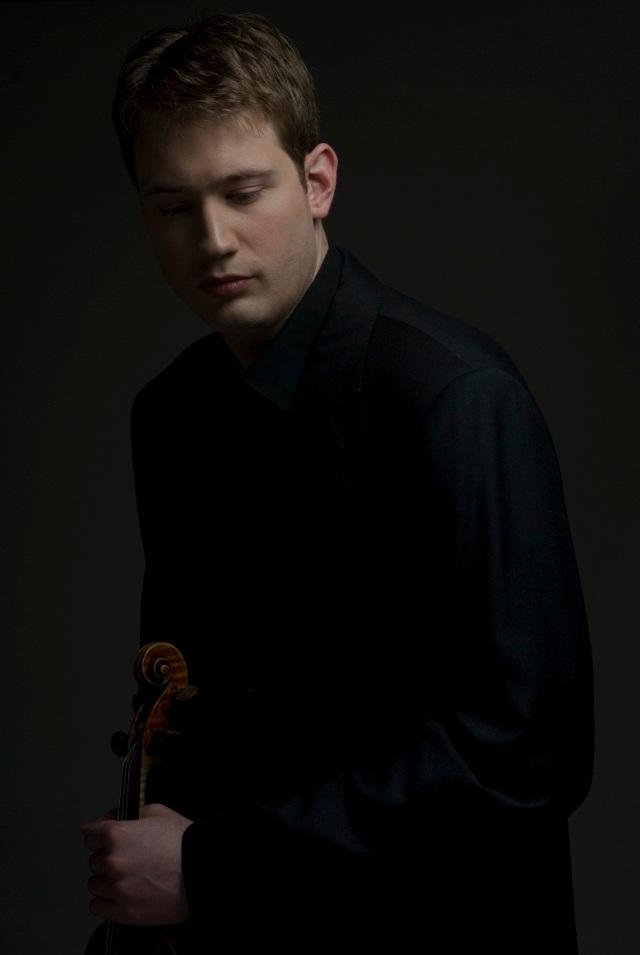 Violinist Jonathan Crow