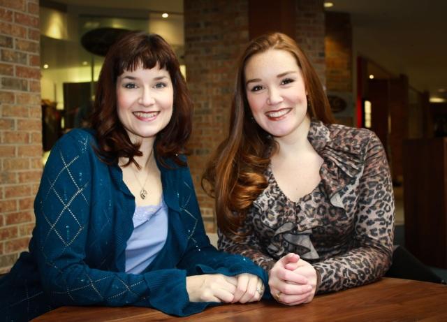 Left to right, Erin Bardua and Maureen Batt   (Katie Cross Photography)