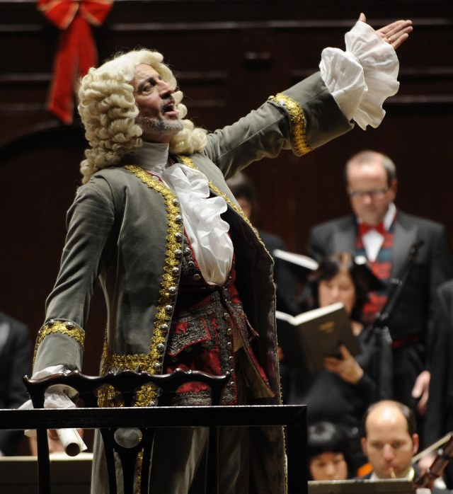 Ivars Taurins as Herr Handel  (photo by Gary Beechey)