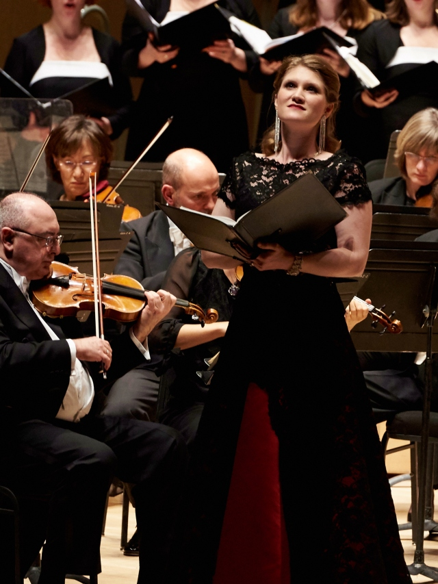 Soprano Jane Archibald with the Toronto Symphony (photo: Malcolm Cook)