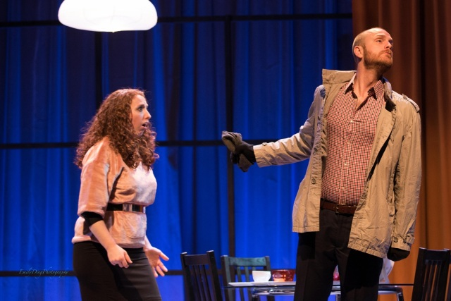 Rachel Krehm and Geoffrey Sirett in Il segreto di Susanna