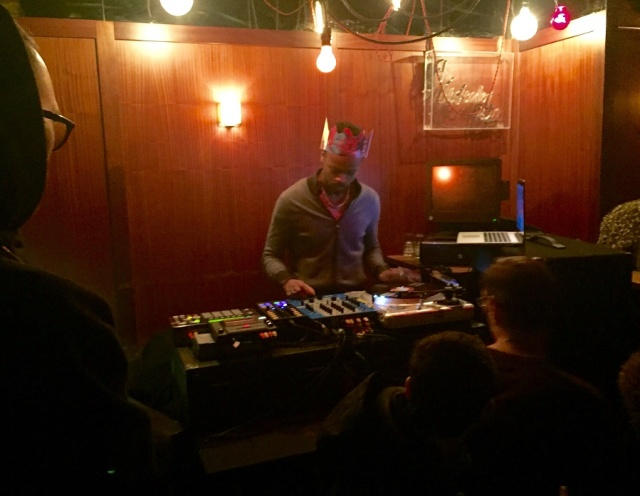 SlowPitch Sound, resident DJ at the Drake Hotel Underground