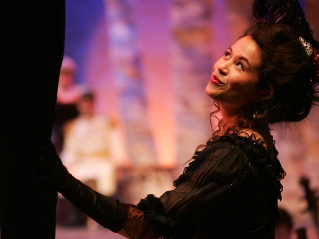 Emma Char in A Little Night Music, Eastman Opera Theatre, (photo: Gelfand-Piper Photography)