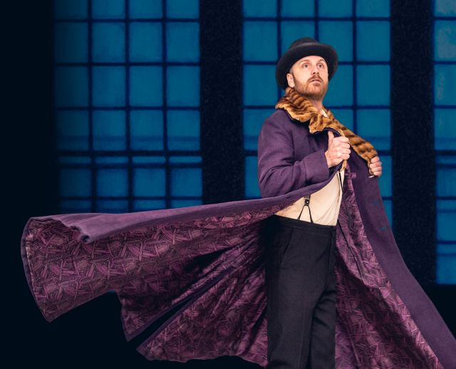 Geoffrey Sirett as Akakiy in The Overcoat A Musical Tailoring_Photo Credit Dahlia Katz_preview