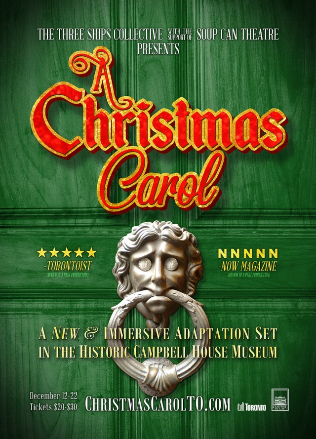 Christmas Carol - Subway Poster - For Web