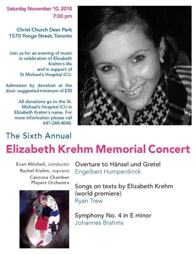 Elizabeth Memorial concert announcement 2018-final